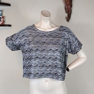 Free people crop top natural colors t-shirt womans